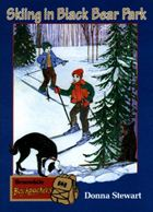 Skiing in Black Bear Park cover